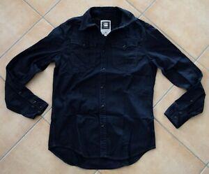 G-Star Jeanshemd Arc 3D Shirt Dunkelblau Dark Blue Derb Cowboy GStar - M Medium