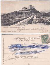 CAMERINO - Castelraimondo Rocca d'Aiello   1905