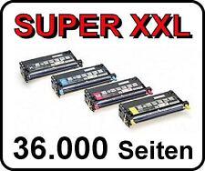 4 x Toner für EPSON Aculaser C2800N C2800DN High Capacity Cartridges