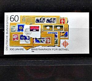 Bund 1395 U ** vom Rand ( Bethel ) - Attest - ( Mi 2000,00 ) - imperforated