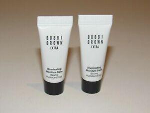 Bobbi Brown Extra Illuminating Moisture Balm BARE GLOW 0.17 oz set x 2 = .34 oz