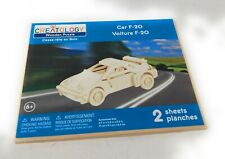 Creatology Car F-20 Wooden Puzzle 2 Sheets