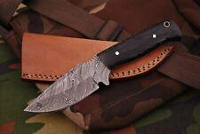 Damast  Messer, sehr schönes Hand geschmiedetes Damast Jagd Messer 515 DL
