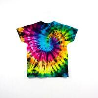 Tie Dye T Shirt Spiral Handmade Tye Die Cotton Adult S M L XL 2XL 3XL 4XL 5XL