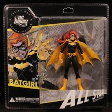 "2008 DC DIRECT ""ALL STAR"" SERIES 1 BATGIRL 6"" ACTION FIGURE MOC"