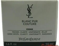 Yves Saint Laurent Blanc Pur Couture Creme 1.6/1.7 oz/50ml New In Box