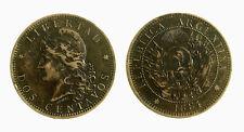 pci3872) Dos centavos ARGENTINA 1884  Bronze