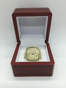 1985 Chicago Bears Walter Payton Championship Ring GOLD Set with Display Box
