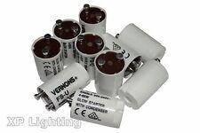 10X Fluorescent Light Starter 4-65W FSU (FS-U) Vernons - Prepack SupaLec/Dencon