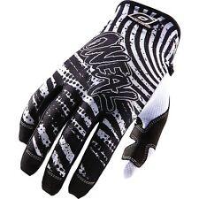 ONEAL O'NEAL JUMP motocross gloves CRYPT blk/wht mens sz 9 MEDIUM ATV  0385-109