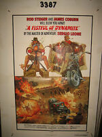 A Fistful of Dynamite Original 1sh Movie Poster cowboy spaghetti western Mexican