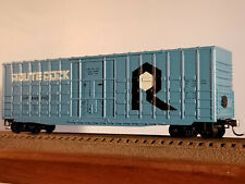 HO Roundhouse (buy 2-$4 off)50' Route Rock Wafflesided box car #240700, built 19