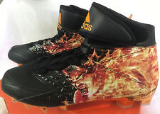 Adidas Freak High Uncaged Devil AQ7822 Fire Football Cleats Shoes Men's 13 new