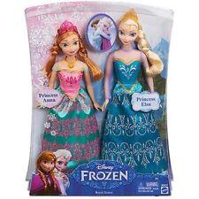 Disney Frozen Dolls Anna of Arendelle and Princess Elsa Sister Dolls