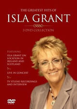 Isla Grant The Greatest Hits of 3 DVD Collection Irish Country Music FREE UK P&P