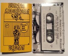 North American Bison Make Mine Head Cheese Cassette Tape Seattle Punk Legends