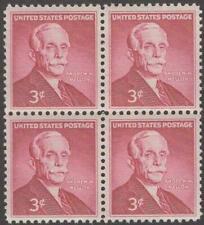 Scott # 1072 - Us Block Of 4 - Andrew Mellon - Mnh -1955