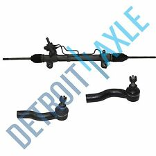 3pc: Power Steering Rack and Pinion Assembly + 2 New Outer Tie Rod -Toyota RAV4