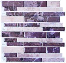 "Crystiles® Peel & Stick Vinyl Wall Tile, Item# 91010856, 10"" X 10"", Set of 4"