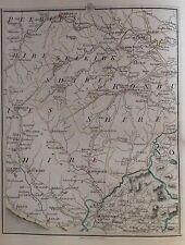 Scotland 1794 Cary's Antique Map Lockerby Hawick Selkirk Jedburgh Galashiels