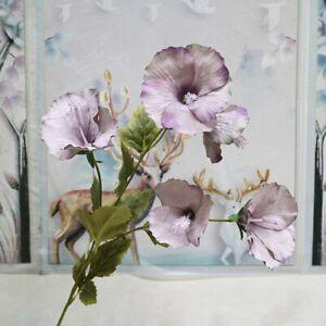 1Pc Floral Arrangement Decor China Rose Artificial Flower Branch Home Wedding
