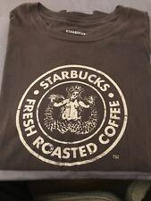 Starbucks Coffee Brown TShirt Mens Size XXL Topless Mermaid