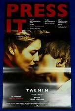 Taemin (SHINee) -Press It  (B Type) Official Posters New K-POP