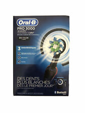 Oral-B 3000 Smartseries Electric Toothbrush with Bluetooth Connectivity, Black