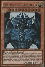 YuGiOh Obelisk the Tormentor - GLD4-EN030 - Gold Rare - Limited Edition Moderate