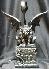 "GUARDIAN of DARKNESS   Gargoyle Lamp    H20 ""  Statue"