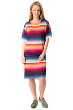 DIESEL Size S Women's M-GRADATION Striped Colourful Jumper Dress Made in Italy