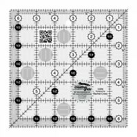 6.5  INCH SQUARE QUILT RULER~CREATIVE GRIDS