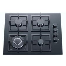 60cm Gas Cooktop 4 Burner Tempered Glass Top for Kitchen