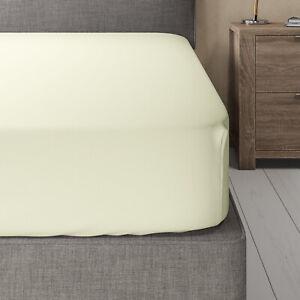 Split Top (Flex) King Fitted Sheet Bamboo Hybrid Cotton Blend