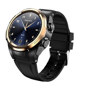 New generation of smartwatch with integrated HD Bluetooth earphones
