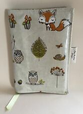 A5 Diary Cover, Journal Cover, Nurses Diary Cover, Page To View, Owls And Foxes