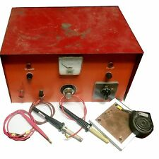 Tack Welder BOX and SOLDER PLATE and pen TESTED WORKING CONDITION