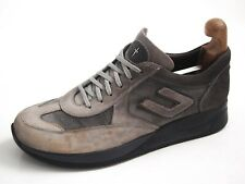 Paciotti 4US sneakers, grey suede, men's shoe size US 9 EU 42 $440