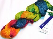 Summery! BEE 150yd Skein Malabrigo SILKY MERINO Soft WOOL & SILK LUXURY DK YARN
