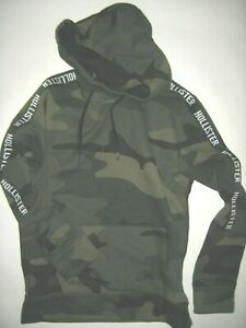Hollister Hoodie/Sweatshirt S/176 camouflage adventure Style Top!!!