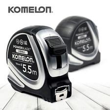 Komelon Stainless POWERBLADE Tape Measure 5.5m x 19mm Rulers KMC-27S kor