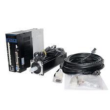 400W AC220V 1.27N.M Nema24 Servo motor and Servo drive set CNC machine parts