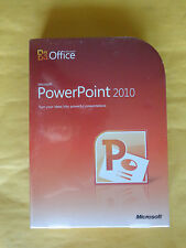 Microsoft PowerPoint 2010 (sealed retail box) SKU: 079-05186