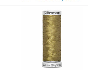 Gutermann Dekor Rayon Embroidery Thread, 200m/219 yd - 8990