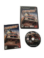 Flatout (Sony Playstation 2, 2005) PS2 Complete w/ Manual Tested Works Flat Out