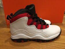 timeless design 707c2 d2493 Jordan Retro 10 Size 11c Basketball White Black University Red 3 Toddler PS