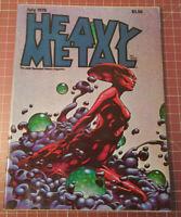 Heavy Metal Magazine July 1978 - Illustrated Fantasy Science Fiction