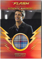 Flash Season 1 Wardrobe Costume Relic Card Grant Gustin Barry Allen M18 M-18