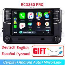 VW Autoradio CarPlay Android Auto RCD360 187B BT Für Golf Passat Polo Deutsch