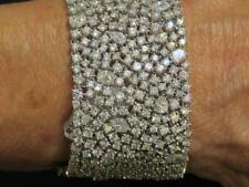 LAST CHANCE!! $250K WINSTON STYLE 18KT CERTIFIED PRISTINE 43CT DIAMOND BRACELET